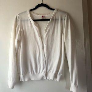 NWOT Cream Cardigan Sweater